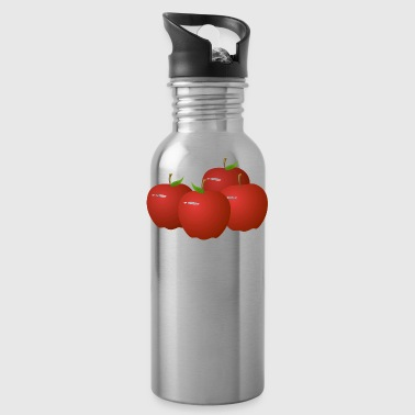 food apple - Water Bottle