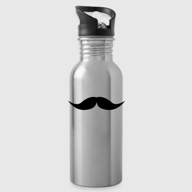 moustache - Water Bottle