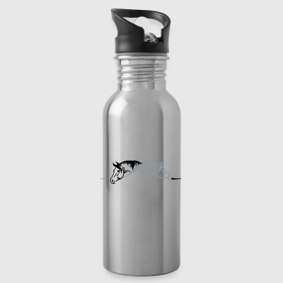 Two Horses - Water Bottle