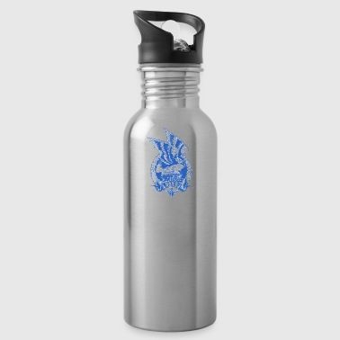 navy - Water Bottle