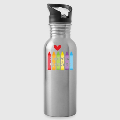 second grade teacher - Water Bottle