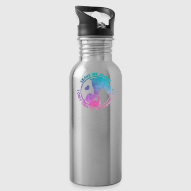 Equestrian Women Girls Love Their Horses Gift - Water Bottle