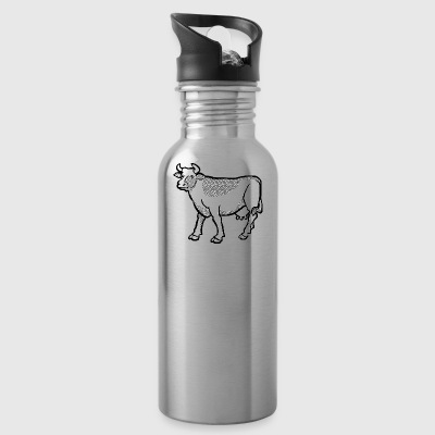 cow - Water Bottle