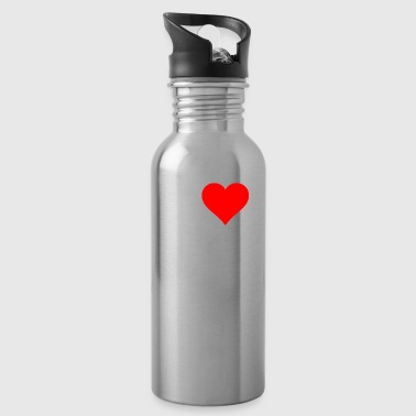 I love Math Heart Calculator Souvenir Gifts - Water Bottle