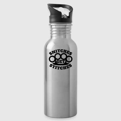 Snitches Get Stitches - Water Bottle