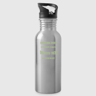 Behind Every Strong Correctioanl Oficer - Water Bottle