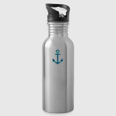Ornate Anchor - Water Bottle