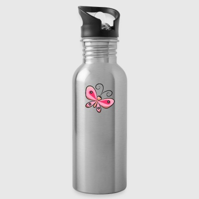 butterfly-fly-insect-beautiful - Water Bottle