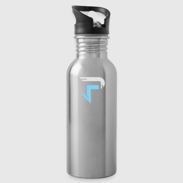 Proximitty Silver and Blue Logo - Water Bottle