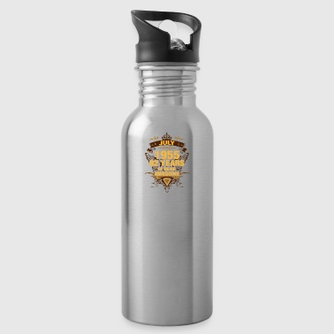 July 1955 62 Years of Being Awesome - Water Bottle