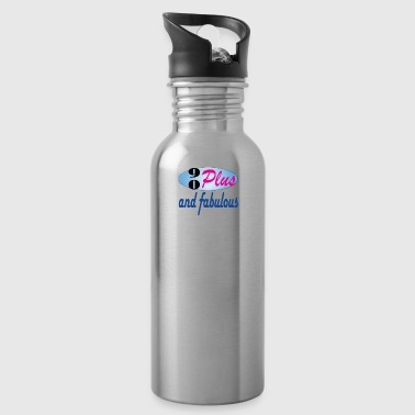 90plus and fabulous - Water Bottle