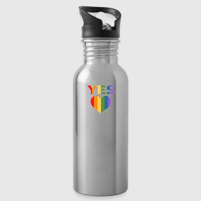Yes to marriage equality Australia - Water Bottle