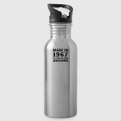 Made In 1967 50 Years Of Being Awesome - Water Bottle