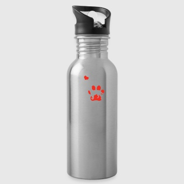 Cattle Dog Shirt - Water Bottle