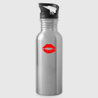 Kiss Me Im A Cosmetologist - Water Bottle