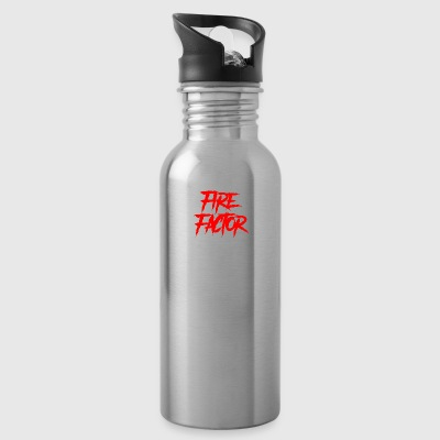 Fire Factor White Text - Water Bottle