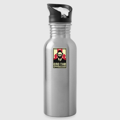 End The Oppression - Water Bottle