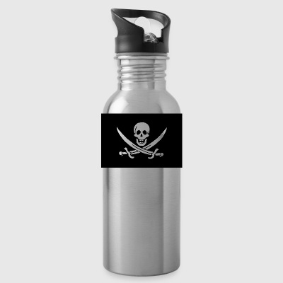 Classic Pirate Flag - Water Bottle