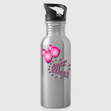 Knock Out Cancer - Water Bottle