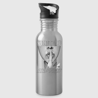 shut up and play - Water Bottle