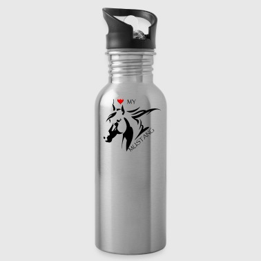 I LOVE MY MUSTANG - Water Bottle