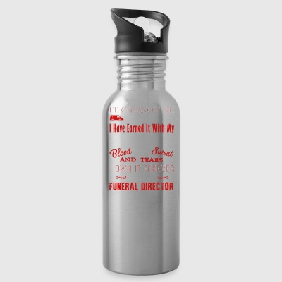 Forever Funeral Director Shirt - Water Bottle