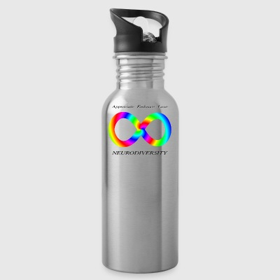 Neurodiversity swirl embrace - Water Bottle
