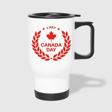 maple leaf - Travel Mug