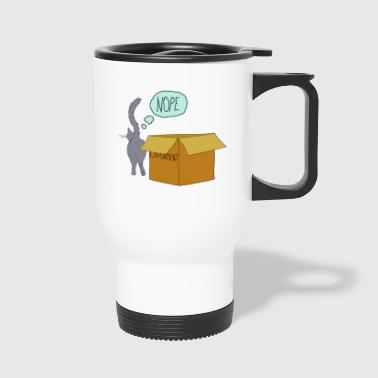 clever cat - Travel Mug