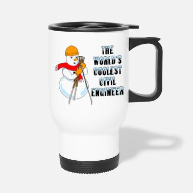 Civil Engineering Coolest Civil Engineer - Travel Mug