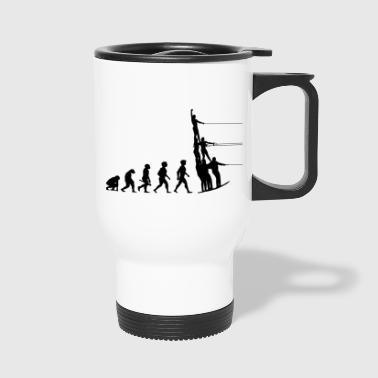 Water Sports Evolution Water Ski Water Sports - Travel Mug