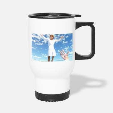 Rosary Ascension of Jesus - Travel Mug