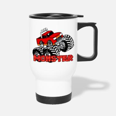 Pickup Truck Monster Pickup Truck - Travel Mug