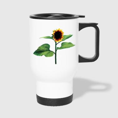 Sunflower Profile - Travel Mug