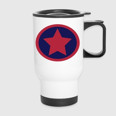 Super, Hero, Heroine, Super Star, Rock Star - Travel Mug