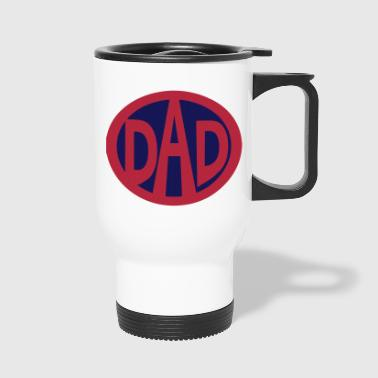 Super, Hero, Super hero, Super Dad - Travel Mug