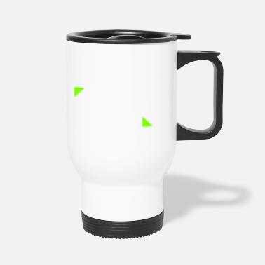 3dr 3dr logo white - Travel Mug