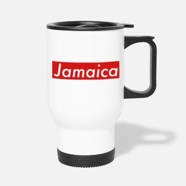 Rasta Jamaica box red - Travel Mug