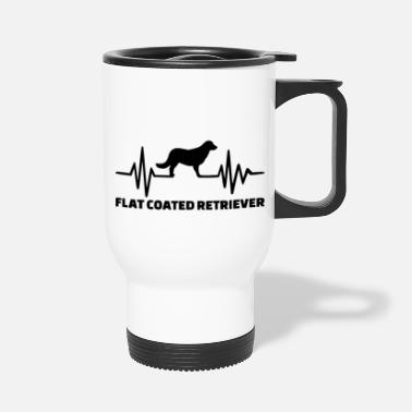 Coat flat coated - Travel Mug