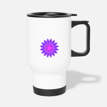 Lilac lilac design - Travel Mug