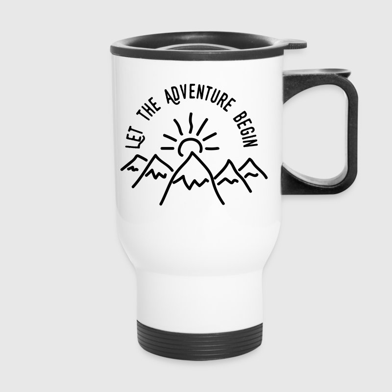 AD Let the Adventure Begin - Travel Mug
