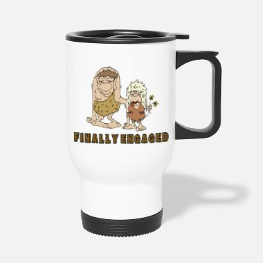 Engagement Engagement Finally Engaged - Travel Mug