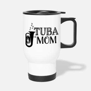 Parents Tuba Mom Band Parent - Travel Mug
