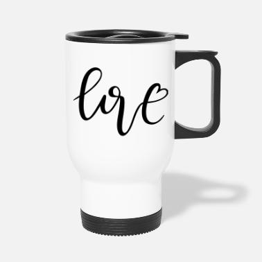 Kreuz love - Travel Mug