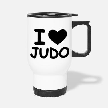 Jiujitsu time for judo - Travel Mug