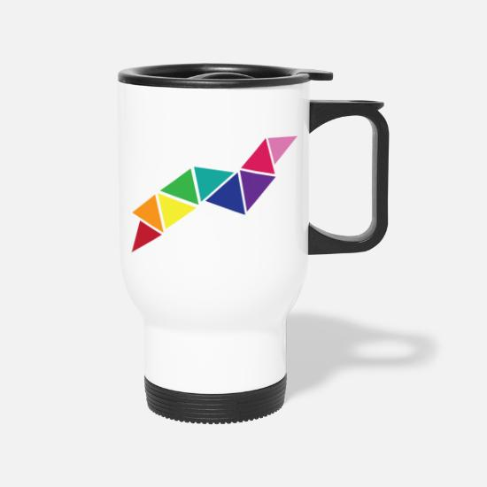 Color Mugs & Drinkware - Worms - Travel Mug white