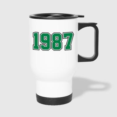 1987 | Year of Birth | Birth Year | Birthday - Travel Mug
