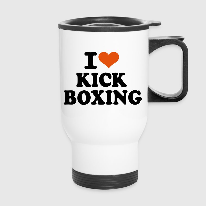 I love Kickboxing - Travel Mug