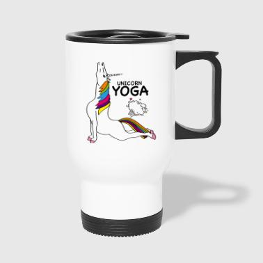 Unicorn Yoga - Travel Mug