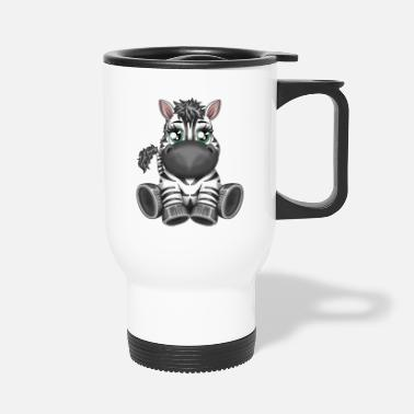 Zoe Zebra Zoe - Travel Mug